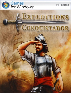 Expeditions Conquistador PC  Cover